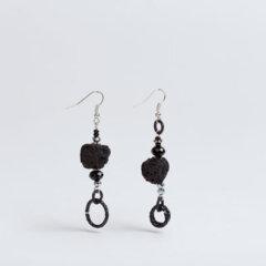 orecchini-cartapesta-nero