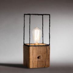 Lampada Cubetto montata