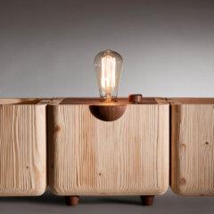 Lampada Edison aperta